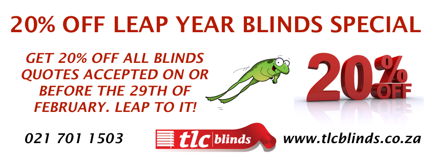 20 percent off blinds special large