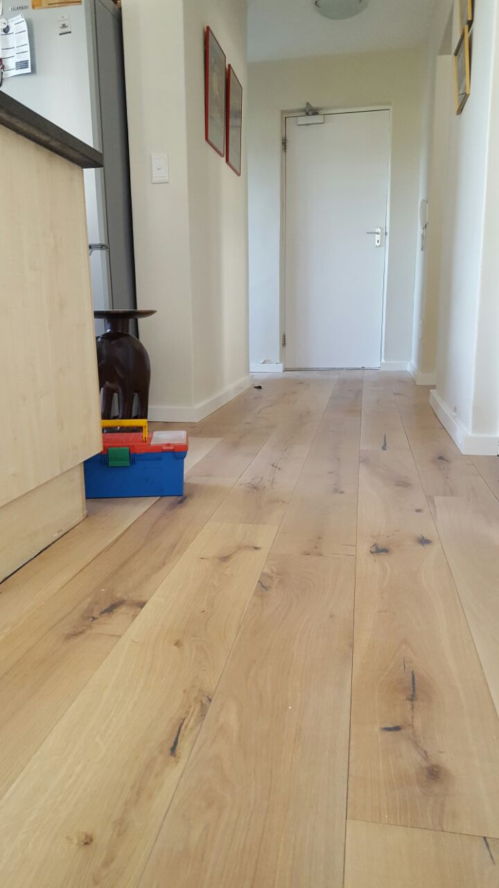 Rustic Grade Engineered Wood flooring installation by tlc flooring