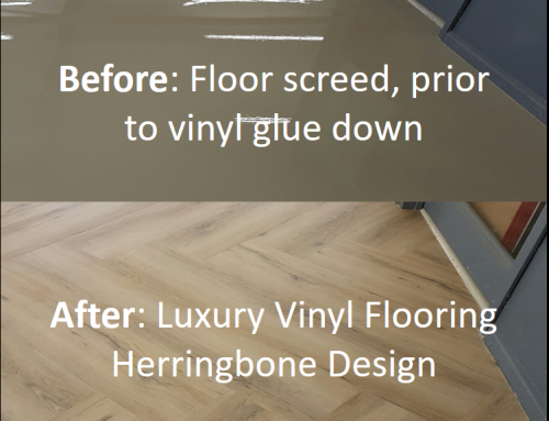 See Our Herringbone Vinyl Flooring