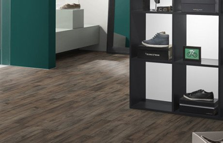 Laminate Floors - EPL076 Grey Brynford Oak Room
