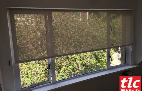 sunscreen roller blinds - soft steel - tlc blinds 3