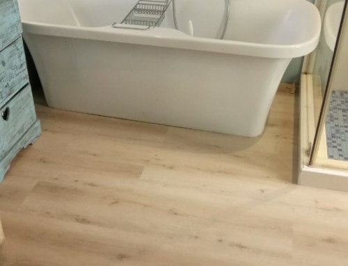 TLC installs more luxury vinyl flooring planks