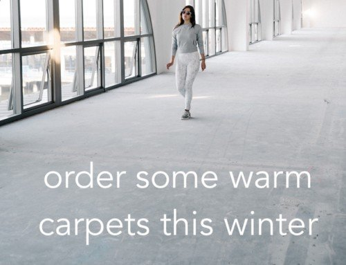Order your new carpets from TLC Flooring before winter?