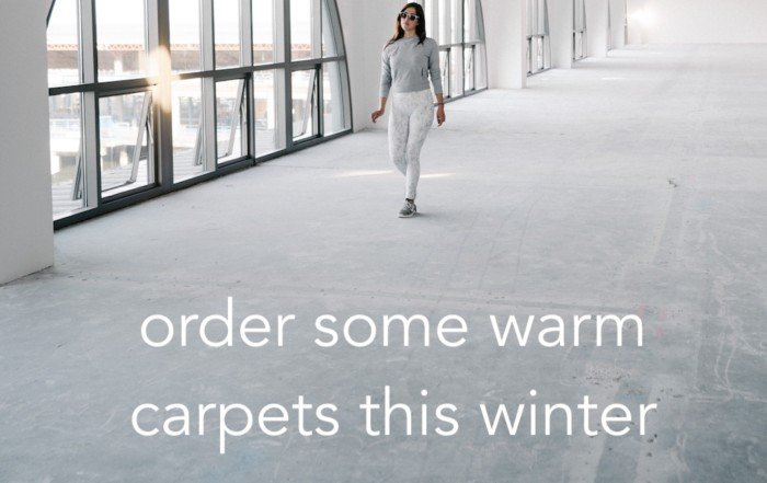 get new carpets this winter 1
