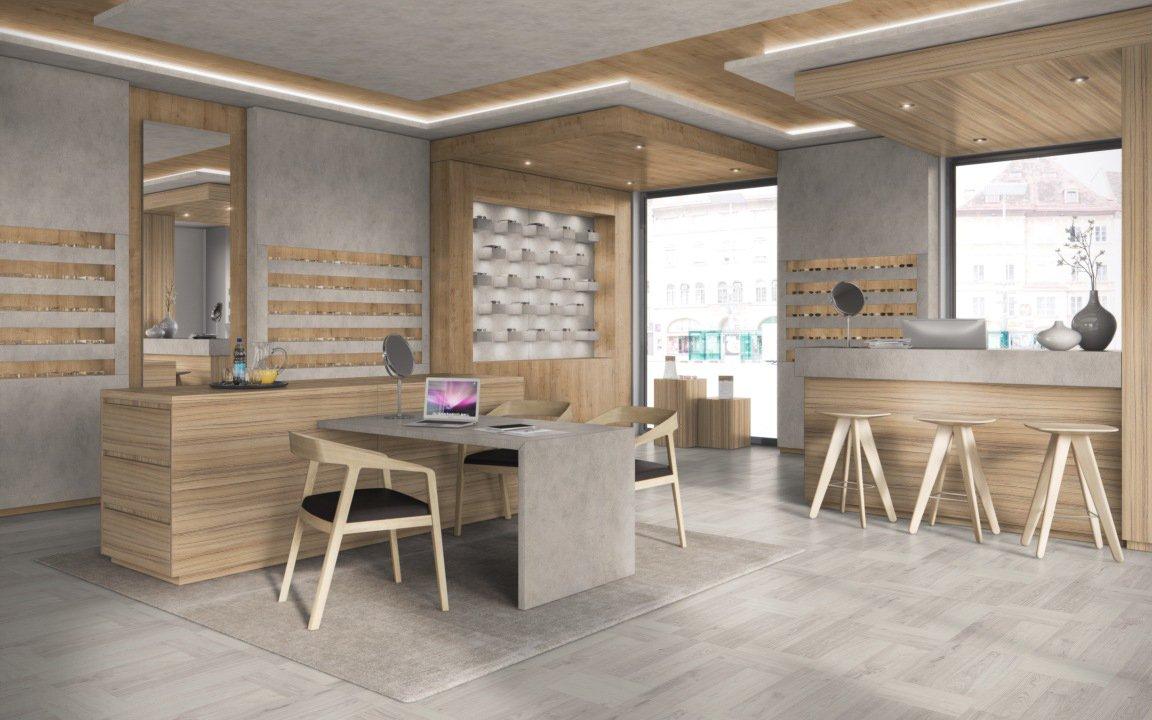Laminate Flooring - Egger PRO Kingsize EPL057 White Clifton Oak Room Pic