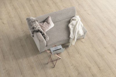 Laminate Flooring - Egger PRO Kingsize EPL057 White Clifton Oak Room Pic