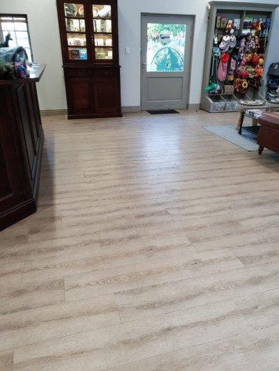 Aspen Original Almond Oak luxury vinyl plank flooring