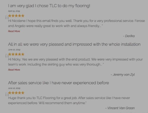 We are proud to share some of our most recent reviews