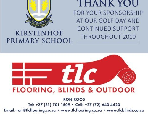 Thank you for the shoutout Kirstenhof Primary School