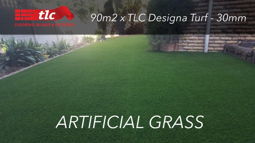 Artificial Grass 90m2 x TLC Designa Turf - 30mm TLC Flooring Cover