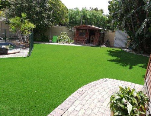 135 Msq Artificial Grass Installation – TLC Designa Turf