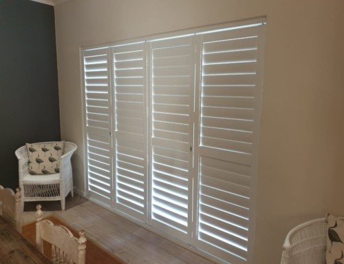 Recent shutter installation in the Southern suburbs of Cape Town