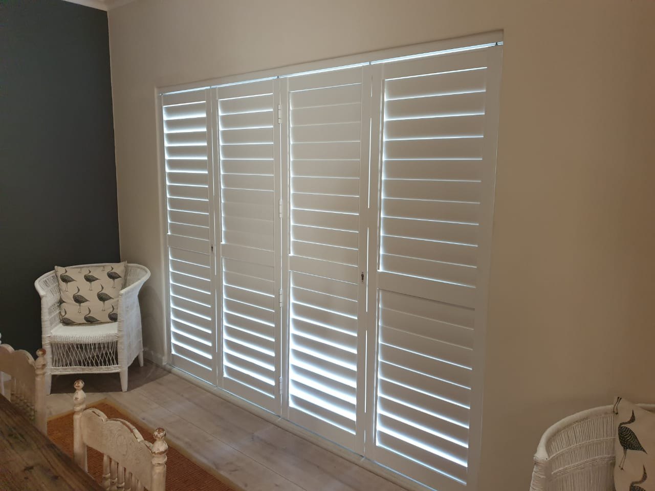 shutters - window shutters door shutters cape town - tlc flooring