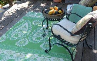 Polypropylene Outdoor Rugs - Paisley Daisy