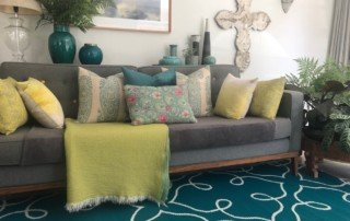 Polypropylene Outdoor Rugs - Teal Picasso copy