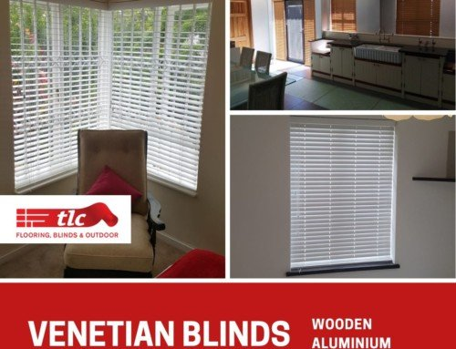 Venetian Blinds – Aluminium or Wooden. Get yours from TLC