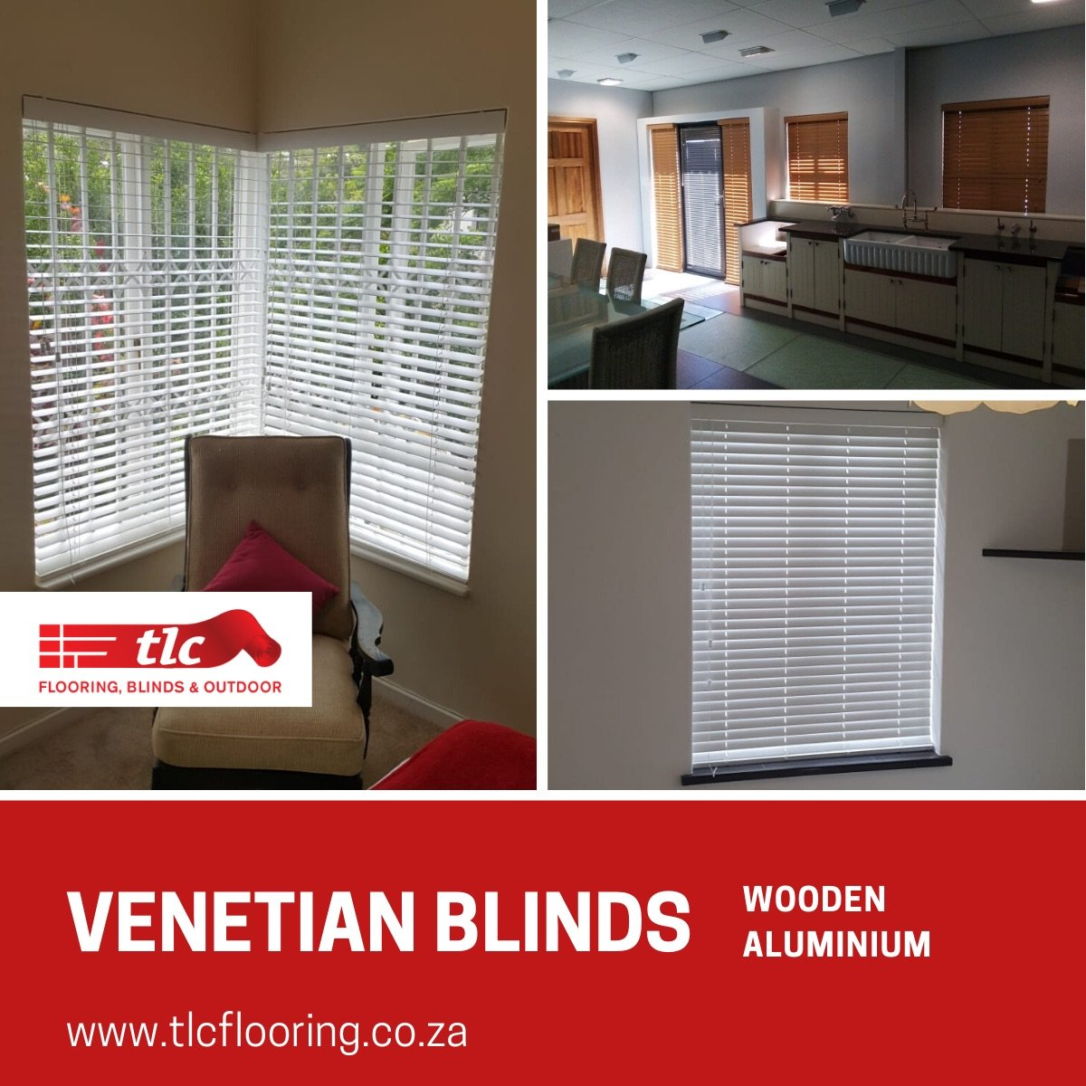 Venetian Blinds Cape Town - TLC Flooring