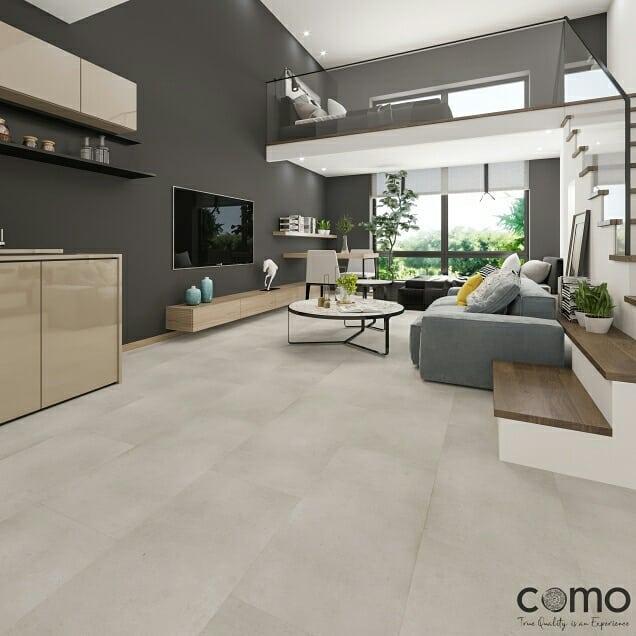 COMO Mineral Vinyl Floor Tile Collection