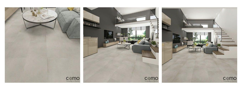 COMO Mineral Vinyl Floor Tile Collection Main