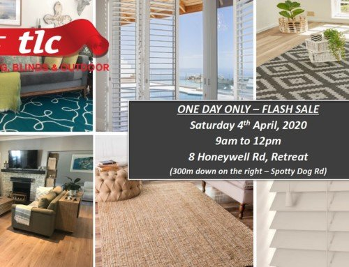 TLC Flash Sale 1 Day Only Sat 4th April