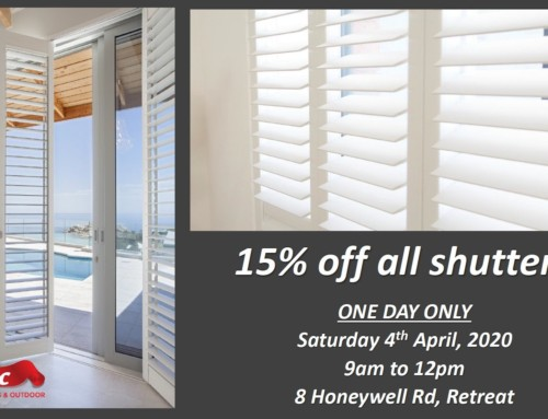 Shutter Special – 4th April 1 Day Only At TLC