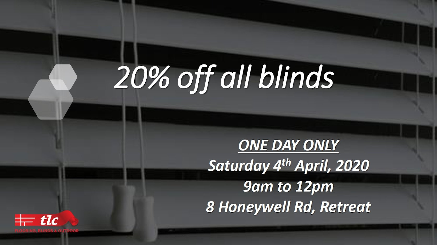 tlc flooring one day sale flash sale blinds