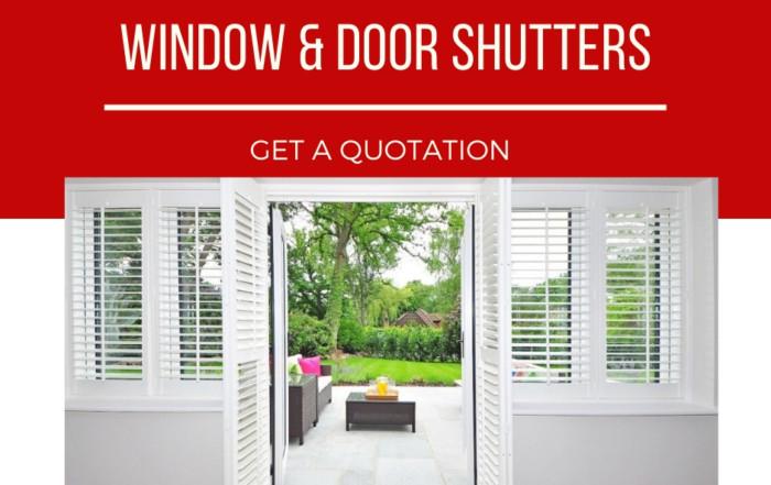 window & door shutters from tlc flooring