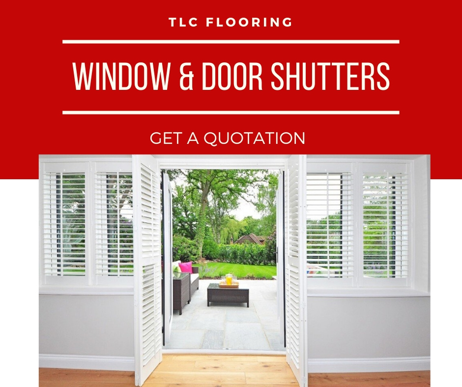 window & door shutters from tlc flooring