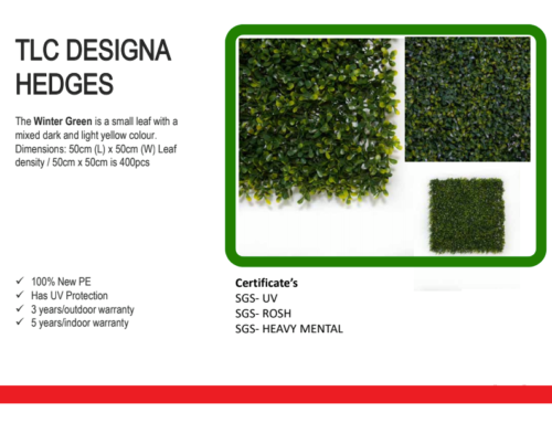 TLC Design Hedges