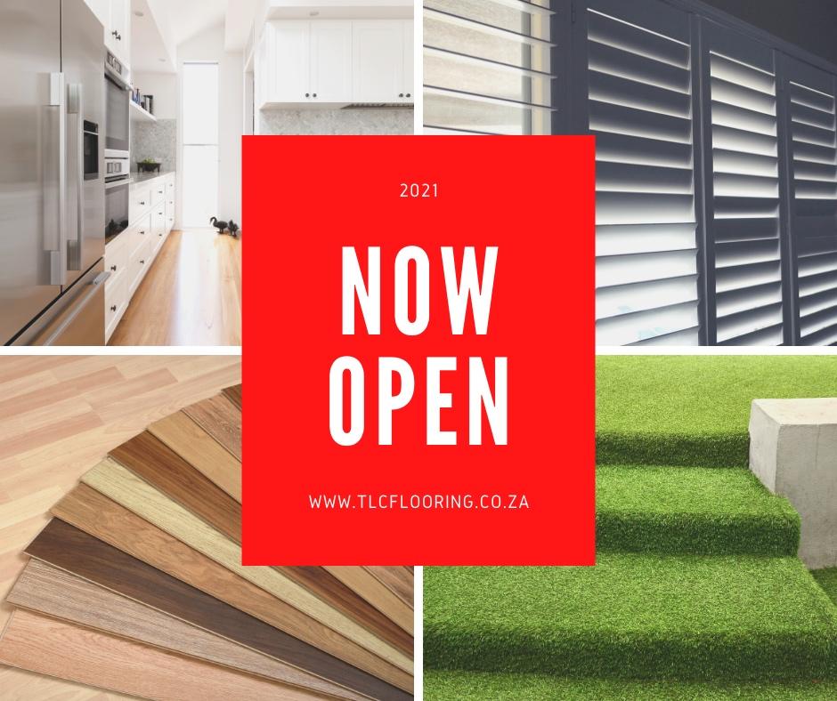 tlc flooring open for business