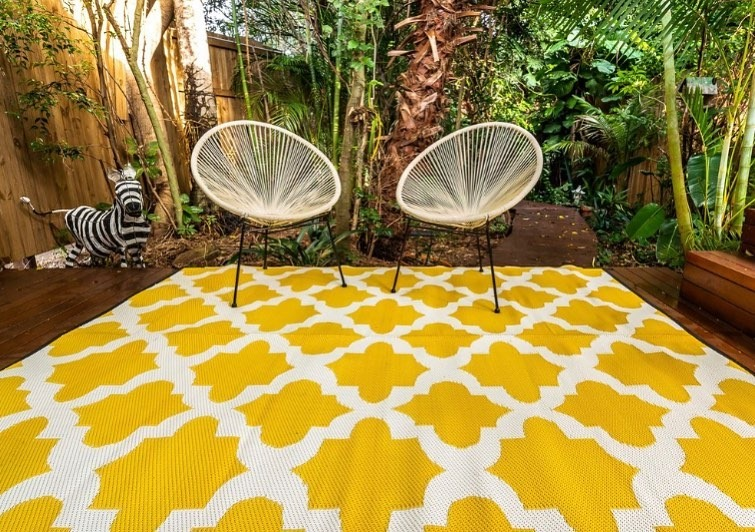 outdoor rug collection here