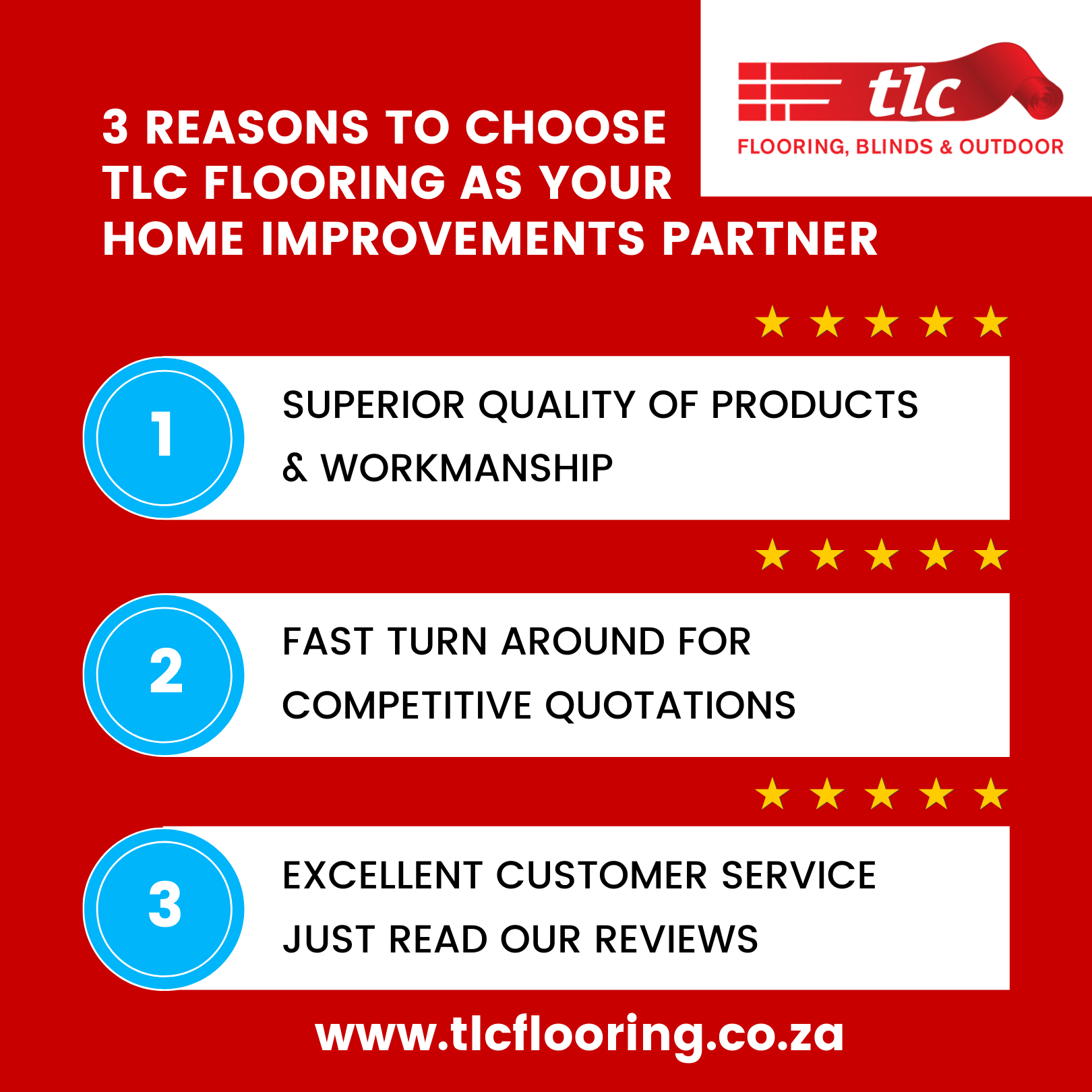 3 REASONS TO CHOOSE TLC FLOORING AS YOUR best flooring company in cape town
